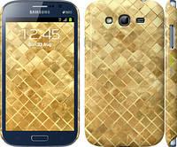 """Чехол на Samsung Galaxy Grand I9082 Текстура цвета золото """"2538c-66"""""""