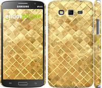 "Чехол на Samsung Galaxy Grand 2 G7102 Текстура цвета золото ""2538c-41"""