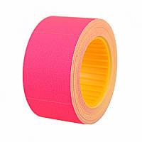 Ценник Datum флюо TCBIL3040 8,00м, прям.200шт/рол (малиновый цвет)