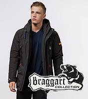 Braggart Arctic 1533   Зимняя парка мужская коричневая 48 (M)52 (XL)54 (XXL)