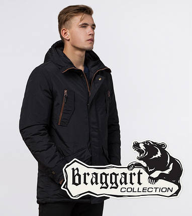 Braggart Arctic 48560 | Зимняя парка черная, фото 2