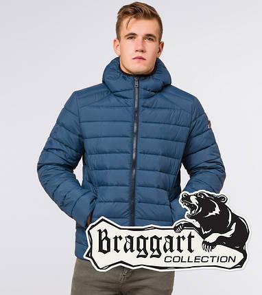 Braggart Aggressive 40962   Зимняя мужская куртка темно-бирюзовая, фото 2