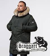 Braggart Arctic 91660   Зимняя парка с опушкой хаки 46 (S)