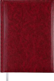 Щоденник недатований Buromax BASE(Miradur) A5 288стр. бордовий (BM.2008-13)