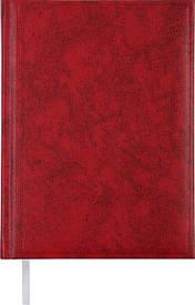 Ежедневник недатированный Buromax BASE(Miradur) A5 288стр. красный (BM.2008-05)