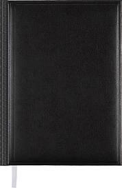 Ежедневник недатированный Buromax BASE(Miradur) A5 288стр. черный (BM.2008-01)