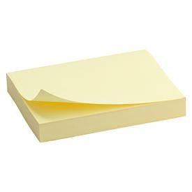 Блок паперу для нотаток клейкий шар Axent 5х75мм 100л жовтий D3312-01