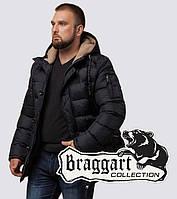 Braggart Dress Code 26402   Мужская куртка на зиму черная 46 (S)