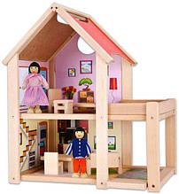 Будиночок для ляльок дерев'яний Eichhorn 2501