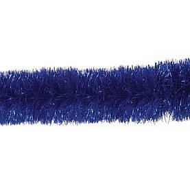 Новорічна гірлянда мішура Yes Fun дощик 50ммх2м синій (900872)