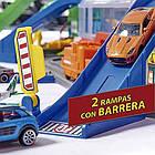 Мега гараж Majorette 2059989 Супер Город 7 уровней 6 металлических машинок, фото 4