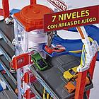 Мега гараж Majorette 2059989 Супер Город 7 уровней 6 металлических машинок, фото 7