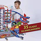 Мега гараж Majorette 2059989 Супер Город 7 уровней 6 металлических машинок, фото 9