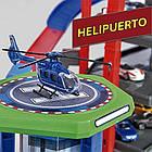 Мега гараж Majorette 2059989 Супер Город 7 уровней 6 металлических машинок, фото 3
