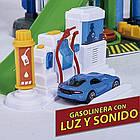 Мега гараж Majorette 2059989 Супер Город 7 уровней 6 металлических машинок, фото 8
