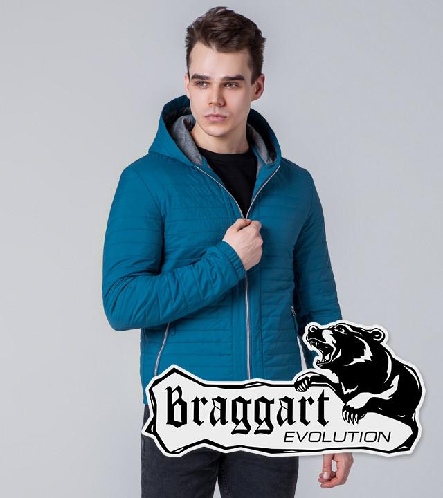 Braggart Evolution 1295   Мужская ветровка бирюзовая