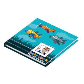 Записна книга блокнот ZiBi Airplane 135х135,тв. обл.,80 л. ZB.12702