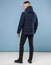 11 Киро Токао | Зимняя куртка для мужчин 6008 темно-синий  42 (2XS)44 (XS)46 (S), фото 3