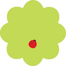 Блок паперу для нотаток клейкий шар Axent Flower 70х70мм 50 аркушів (2444-05-A)