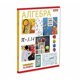 Зошит для записів А5/48 кл. 1В АЛГЕБРА (PATTERN)