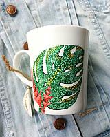 «Тропики» Чашка с точечной росписью