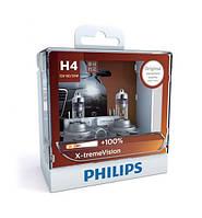 Автомобильные лампы Philips 12V H4 60/55W +130% X-Treme Vision (12342XVS2)
