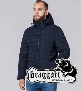 Braggart Evolution 2475 | Мужская Куртка демисезонная с искусственным мехом синяя р.46