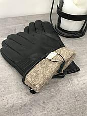 Мужские кожаные перчатки  1-935s2, фото 2
