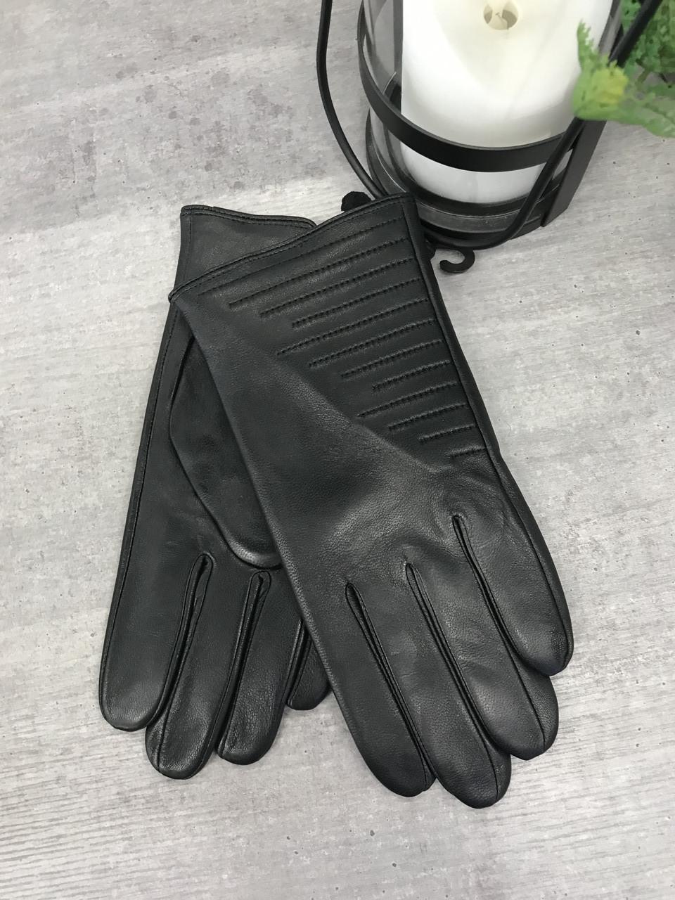 Мужские кожаные перчатки  1-935s2