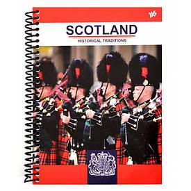 Тетрадь А5/80 од.спираль Scotland YES