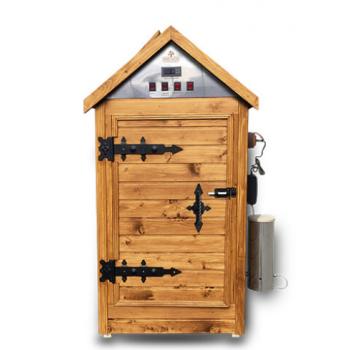 Коптильня деревянная для холодного, горячего копчения и сушки вяления «Биг 2.0»