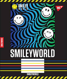 Тетрадь в клетку 24л YES SMILEY WORLD микс 4 обложки (764705)