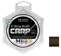 Dragon Mega Baits Ultra Soft Carp 300 м Brown 0,28 мм 6,8 кг/14,99 lb (TDC-30-24-128)