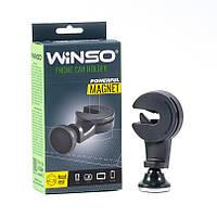 Автодержатель магнитный для планшета (телефона, навигатора) на подголовник  WINSO (201230)