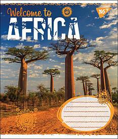Зошит в клітку 60л YES AFRICA мікс 4 обкладинки (764788)