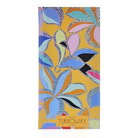"""Блокнот 100x200/96 КЛ. 7БЦ, фольга голограф.срібло+УФ-виб.""""Turnowsky. Flower Pattern"""" YES"""