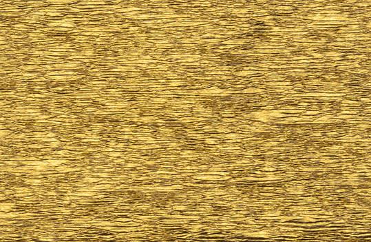 Гофрированная бумага (гофрована) золотой цвет 20%  (50смX200см), фото 2