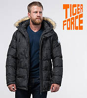 Tiger Force 71368   Куртка мужская на зиму темно-серая 46 (S)48 (M)50 (L)