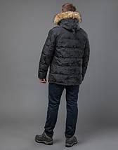 Tiger Force 71368 | Куртка мужская на зиму темно-серая  46 (S)48 (M)50 (L), фото 3