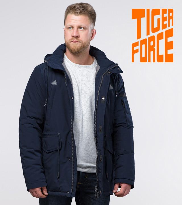 Tiger Force 71360 | Мужская парка зимняя синяя и т. синяя