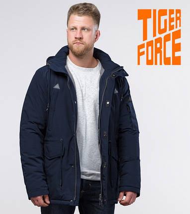 Tiger Force 71360 | Мужская парка зимняя синяя и т. синяя, фото 2