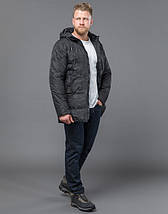 Tiger Force 59910 | Мужская зимняя куртка черная, фото 2