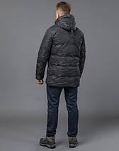 Tiger Force 59910 | Мужская зимняя куртка черная, фото 3