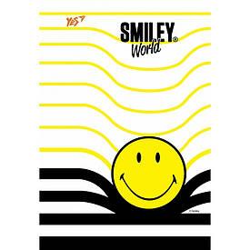 Тетрадь В6/144 пл.обл. Smiley Stripes  YES