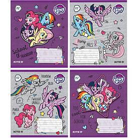 Зошит в лінію 12 л Kite А5 My Little Pony мікс 4 обкладинки (lp19-234)