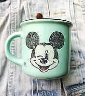 «Микки» Чашка с точечной росписью