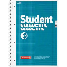 Записна книга коледж-блок Brunnen А4 DUO,80 лист лінійка+клітка 10 679 74