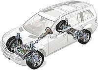 Пневмоподушки пневмобаллоны для Mercedes ML, GL, GLE, GLS, S - class. Гарантия до 12 месяцев