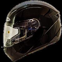 Мотошолом інтеграл ZEUS ZS-811 black - чорний глянсовий