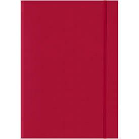 Записна книга блокнот Brunnen Melissa червона А4 клітина 73-552 272 20